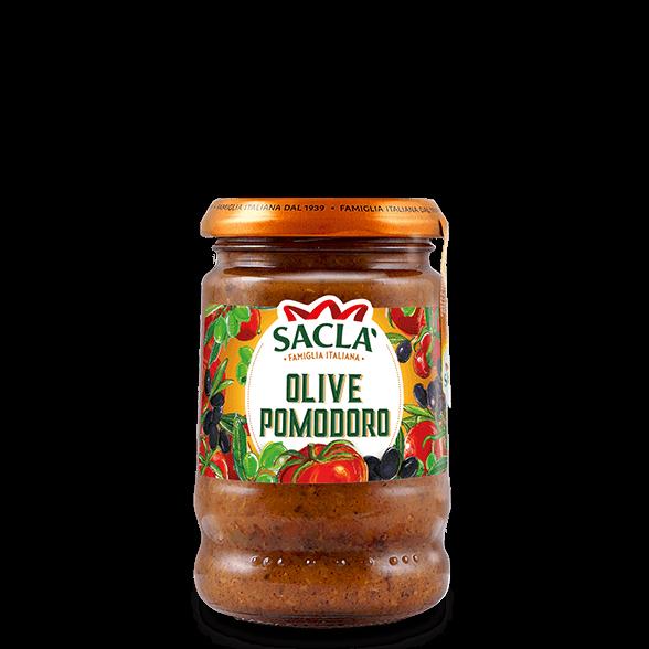 Pastasaus met olijven, tomaten en kappertjes