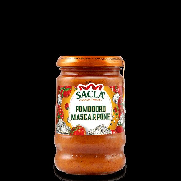 Pastasaus met tomaten en Mascarpone kaas