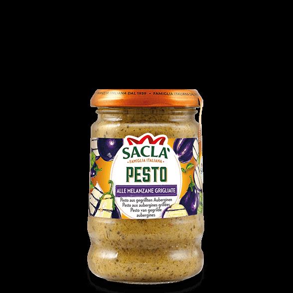 Pesto van gegrilde aubergines (190g)