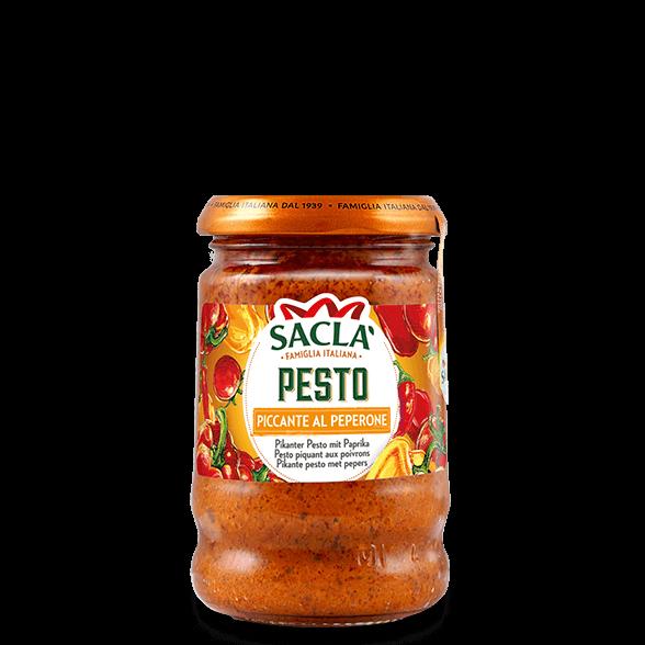 Pikante pesto van paprika's en rode pepers (190g)