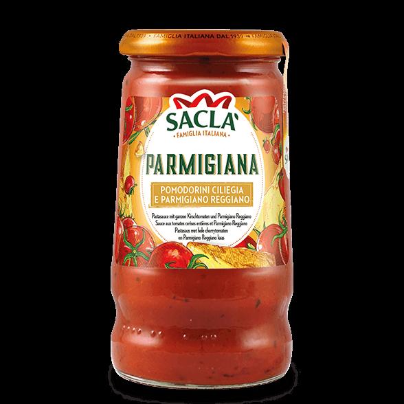 Parmigiana – cherrytomaten en Parmigiano Reggiano