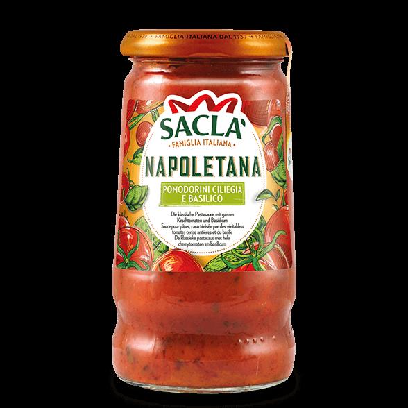Napoletana – cherrytomaten en basilicum