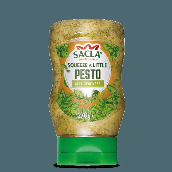 Pesto van basilicum (samendrukbare)